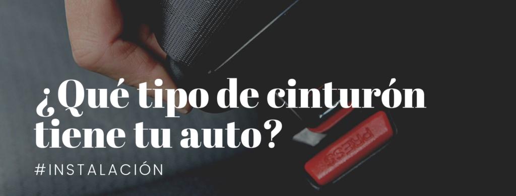 ¿Sabes qué tipo de cinturón tiene tu auto?
